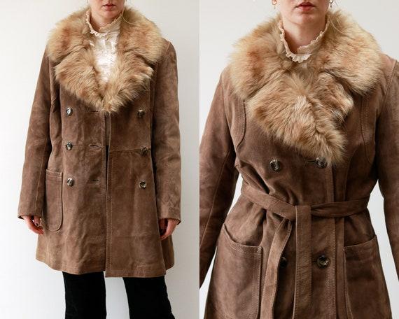 Suede Penny Lane coat