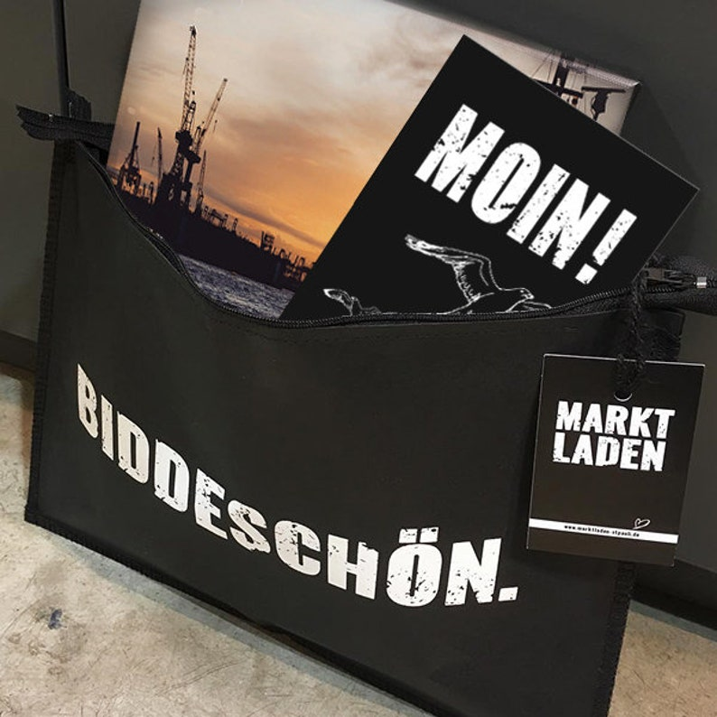 Biddeschön gift bag with zipper image 0