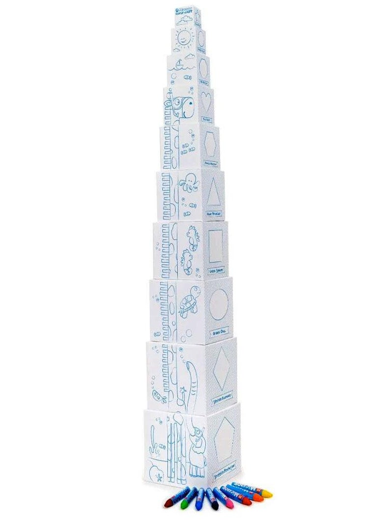 Years early stART Stacktivities Nesting Blocks Stacking Boxes 2 Micador