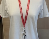 Neck Strap Lanyard Plain/printed lanyard 15mm neck strap FREE ID HOLDER Breakaway Lanyard 15mm Layard Custom Keyring Teacher Nurse Business