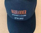 WARHAMMER baseball cap - WARHAMMER hat - 3 Colours - It's not a game It's Life Cap - Warhammer 40K T-Shirt for Him 40K T-Shirt For Her