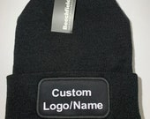 Custom Personalised Beanie Hat Warm Hat Your Name/Logo Winter Hat Beanie Hat For Her Beanie Hat For Him Personalised Beanie