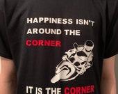 Motorbike Biker T Shirt Motor Cycle Rider T-Shirt Motor Bike T Shirt Lean into it T-Shirt Father's Day Birthday Gift motorbike T-shirt