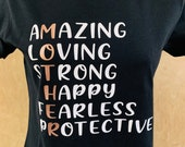 Mother T Shirt Empowering Mother T-Shirt Mum Mothers Day Gift Amazing Mum