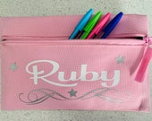 Personalised Pencil Case Back to School Pencil Case Gift for her Gift for him