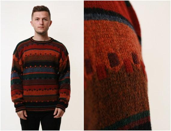 Wool KOLOR KNITS Ireland Vintage Knitwear Sweater