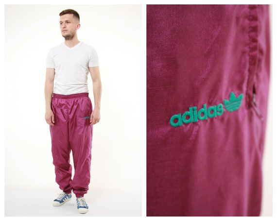 90s Vintage Rare ADIDAS Sport Trousers 14313