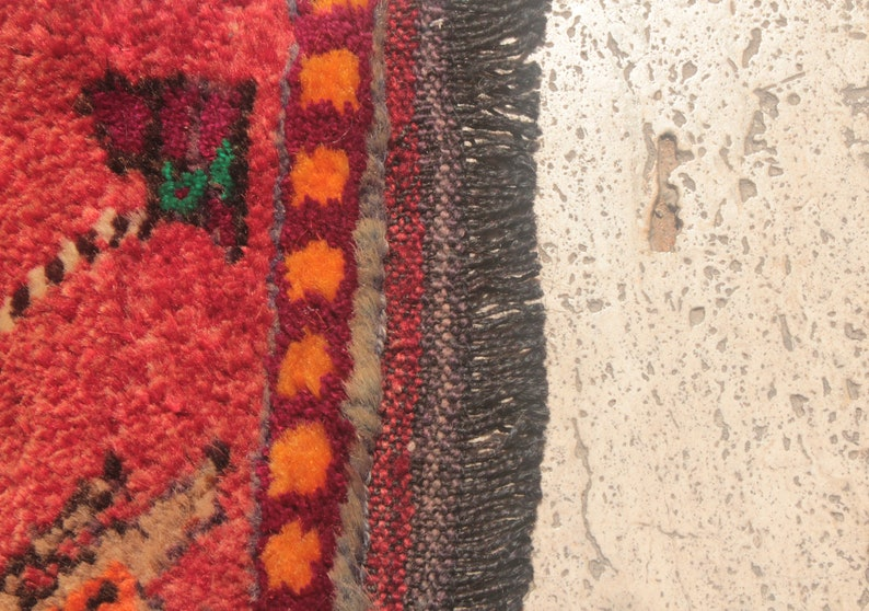 Kilim Rug Bohemian Kilim Door Mat Oushak Rug Vintage Rug Wool Rug Hand Woven Rug K1219 Area Rug 3/'3 x 1/'4 ft Rug