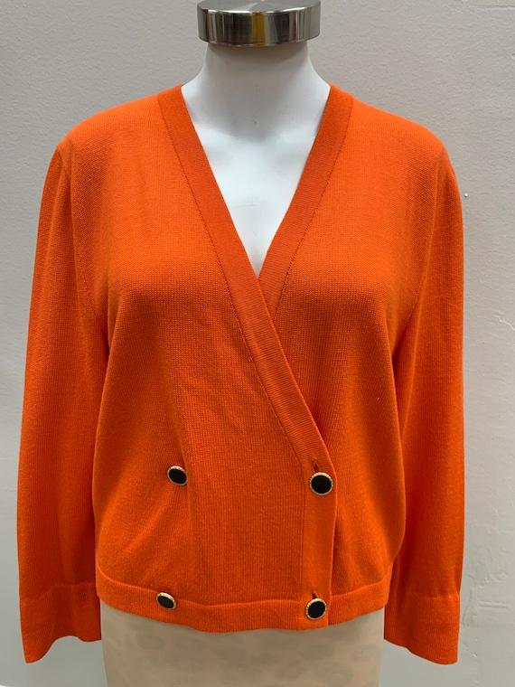 Laurel Vintage Orange Cardigan