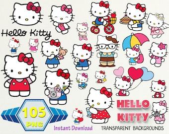 Kitty Clipart Etsy