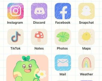 Doodle Theme - App Icons