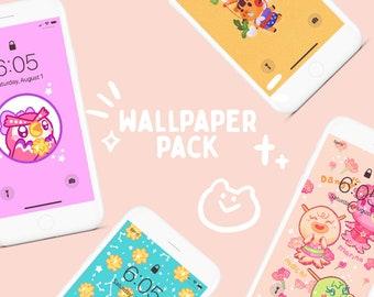 Animal Crossing Digital Wallpaper Pack 2