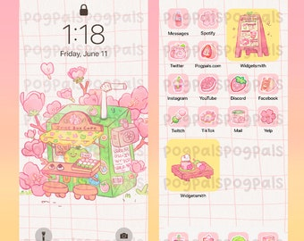Pink Treats Icon Pack