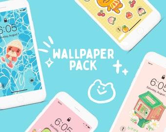 Animal Crossing Digital Wallpaper Pack 1