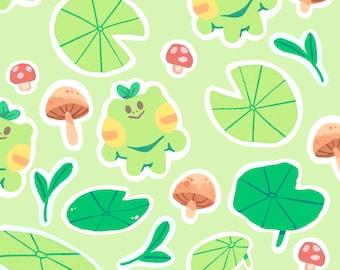 pogpals lilypad phone wallpaper
