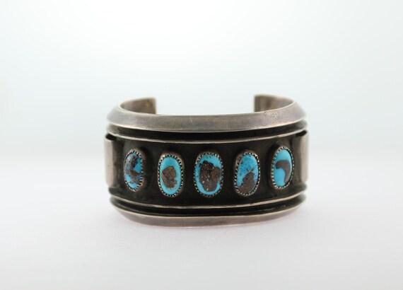 1940's Kingmen Turquoise Bracelet