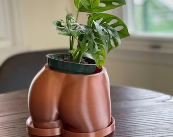 3D Printed Booty Pot/Planter