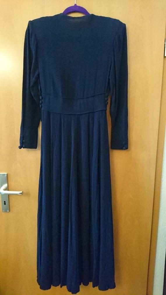 original 40s dress 40s vintage dress size XS rhin… - image 3