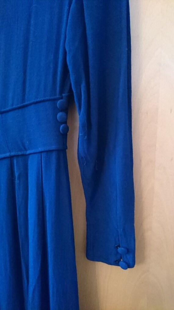 original 40s dress 40s vintage dress size XS rhin… - image 5