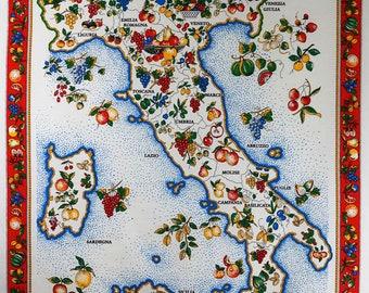 Italian Tea Towel Etsy