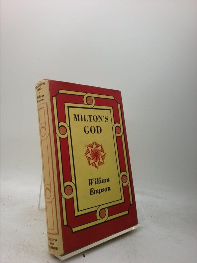 Milton's God by William Empson image 0