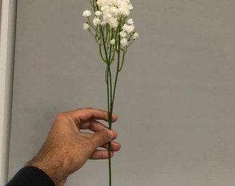 5 pcs pu gypsophila stems