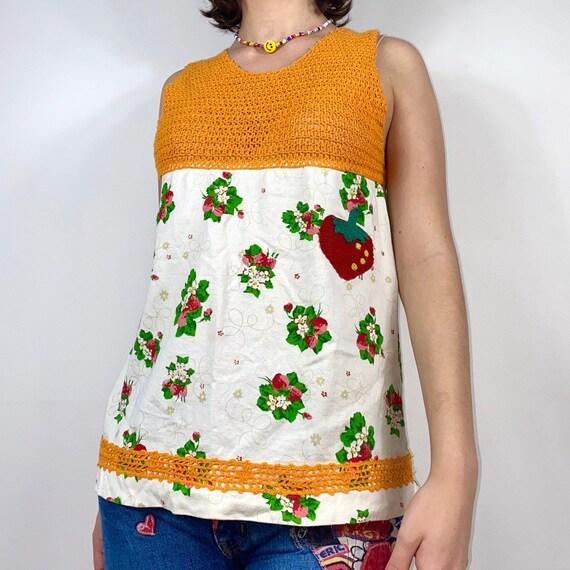 early 2000s japanese brand cottagecore knit/ crotc