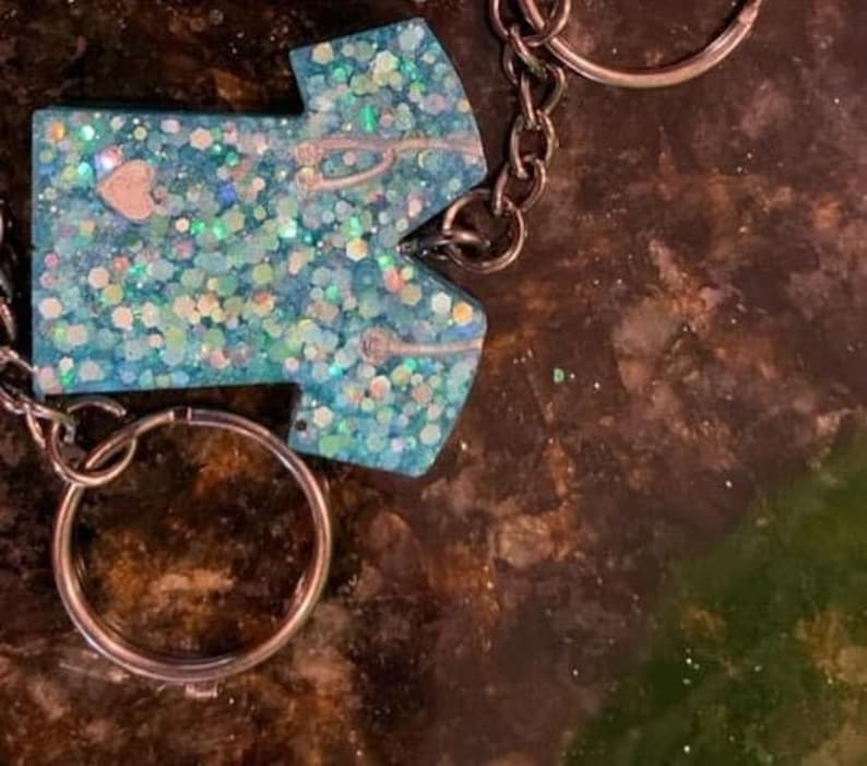 Scrub top key chain key accessories nursing must have one of a kind made in the USA