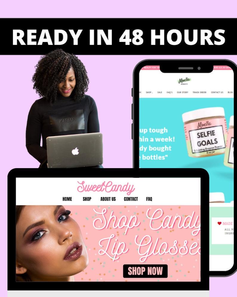Shopify Website Design Customization