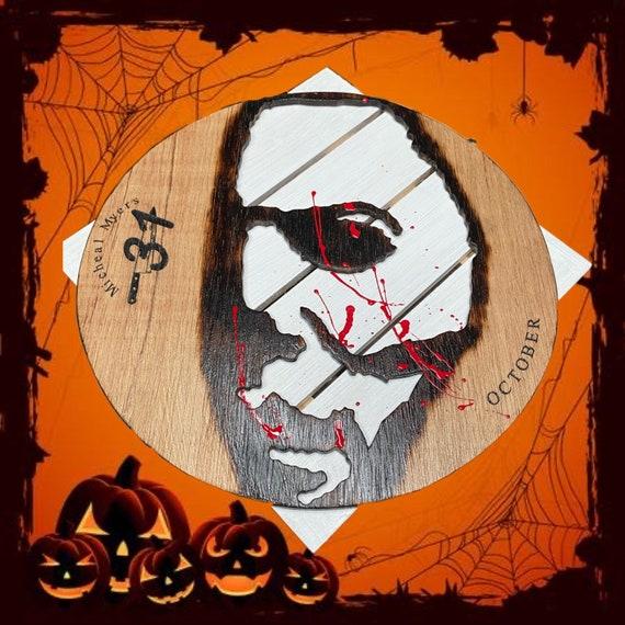 Scray Halloween Horror Wall Decor Home Decor Blood Etsy
