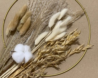 DIY Dry Flowers Rings I Wreath I Do it Yourself I Dried Flowers