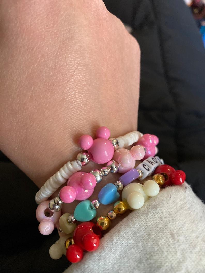 Mickey shell bracelet