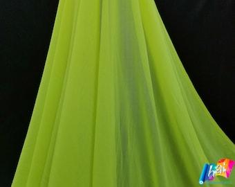 Navy Power Mesh Nylon Lycra Spandex 4Way Stretch Apparel Costume Sports Dance Swimsuit 60 Width By The Yard
