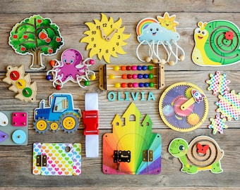 Busy Board Parts, Busy board details, DIY Busy board, Busy board idea, Gift for toddler, Busy board elements, Craft kit, Busy board pieces