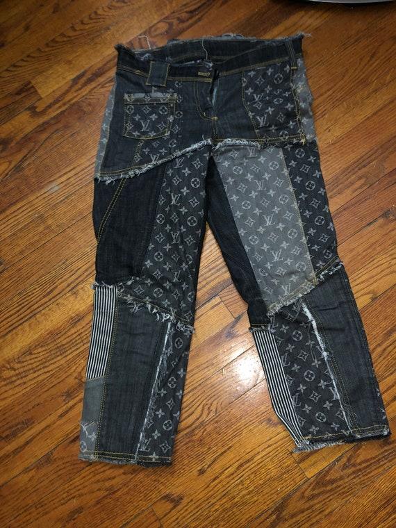 Louis Vuitton denim jeans