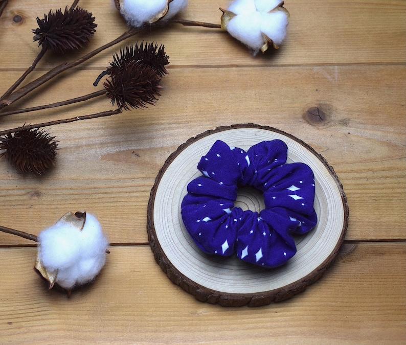 Organic cotton scrunchy