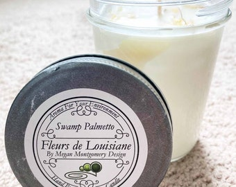 Hand Poured Soy Wax Candles made  with Cajun Love in Youngsville, Louisiana
