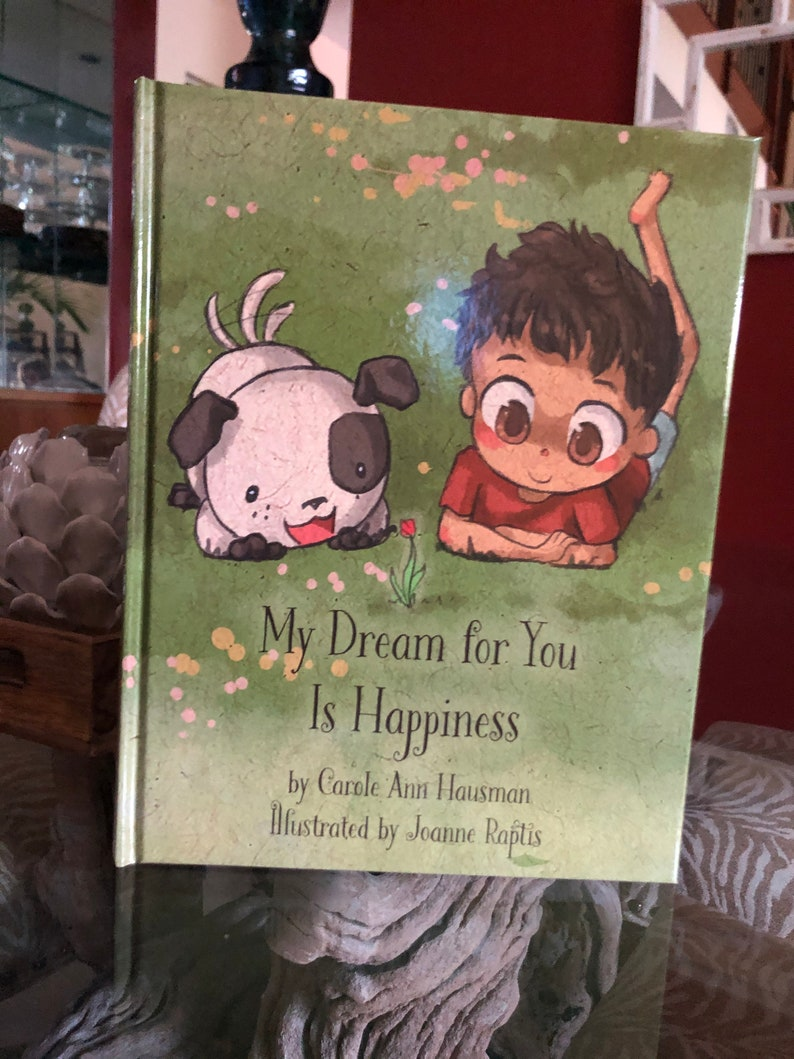 Children's Book:  My Dream For You is Happiness by Carole image 0
