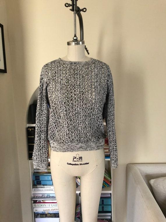 Crochet Sweater Linen