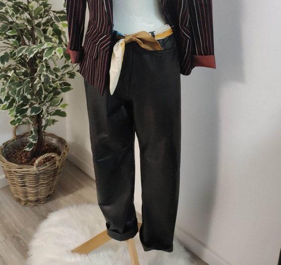Vintage leather pants/ leather pants
