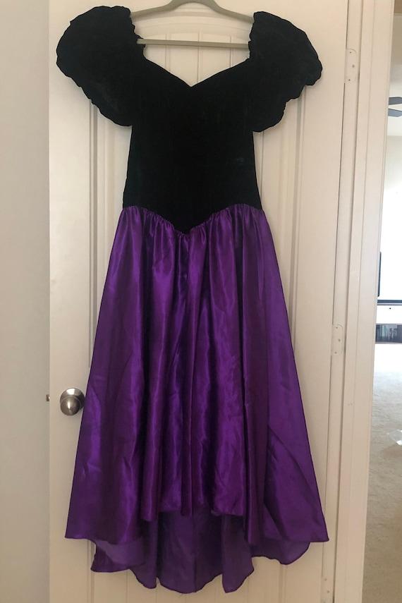 Vintage Velvet Formal Dress