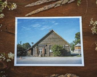 Pievėnai store postcard