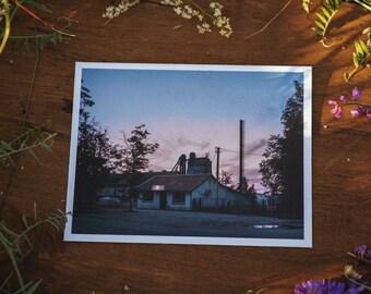 Šatrininkai store postcard