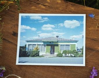 Pašiaušė store postcard
