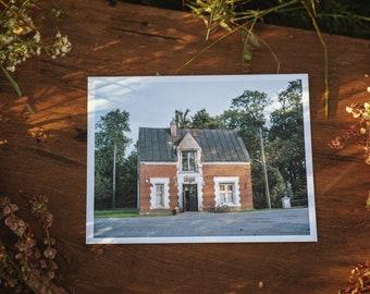 Astravas store postcard