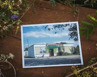 Puškonys store postcard