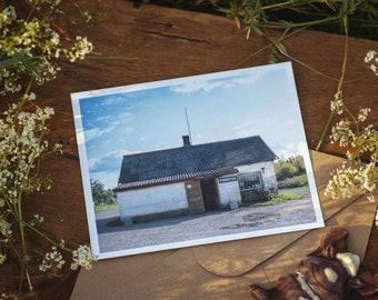Jauniūnai store postcard