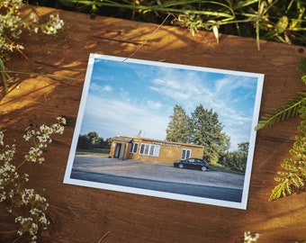 Skapiškio geležinkelio stotis store postcard