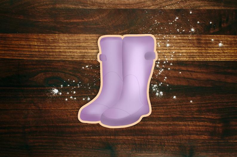 Rain Boots Cookie Cutter