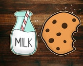 Milk and Cookies Cookie Cutter